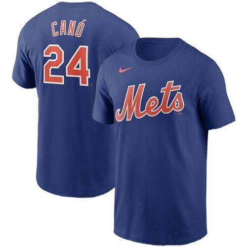 NIKE Robinson Cano New York Mets Jersey T-Shirt Blue Men's Sz XL *NEW* N199-4EW - $37.53