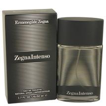 Zegna Intenso Eau De Toilette Spray 1.7 Oz For Men  - $25.70