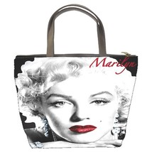 Marilyn Monroe Custom Bucket Bag/Handbags/Purse (2 sided)-05 - $27.00