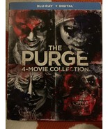 Purge: 4-Movie Collection, The (Blu-ray+Digital, 4-Disc Set) NEW w/ Slip... - $26.99