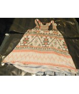 Wet Seal Multicolor Tribal Print Tank Top Size Small - $14.84