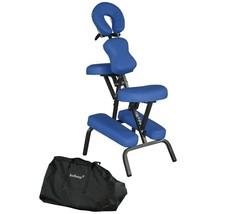"""Portable Massage Chair Comfort 4"""" Thick Foam Light Weight BestMaassage B... - $102.62"""