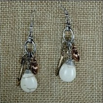 Brand NEW! Natural Stone Tear Drop Earrings - $22.00