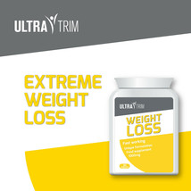 Ultra Trim WEIGHT-LOSS Pills – Lose Fat Get Toned Defined Muscles Max Strength - $33.23