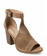 Womens Indigo Rd. Latte Priella Peep Toe Bootie - Taupe, Size 6.5 - $49.99