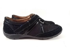 Naturalizer Women's Comfortable Black Leather Loafers Shoes Size 6 M - $12.16