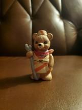 Adorable bear HOMCO Porcelain Figurine Series  #1406 Around the World Bear - $7.20
