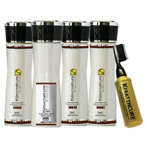 Powerful Brazilian Keratin Cure V1 -6 Piece 5 Oz / 160ML Treatment Smooth Kit - $119.69