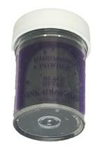 Inkadinkado Embossing Powder, Black Detail