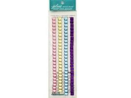 Jolee's Boutique Pastel Mosaic Border Stickers, 4 Pieces #50-20223