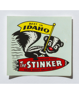 Unique window decal of Fearless Farris, The Stinker, Idaho - $3.00