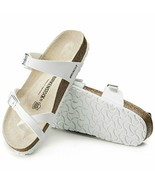 Birkenstock Womens Mayari White Comfort Casual Fashion Chic Flat Sandals... - £83.32 GBP