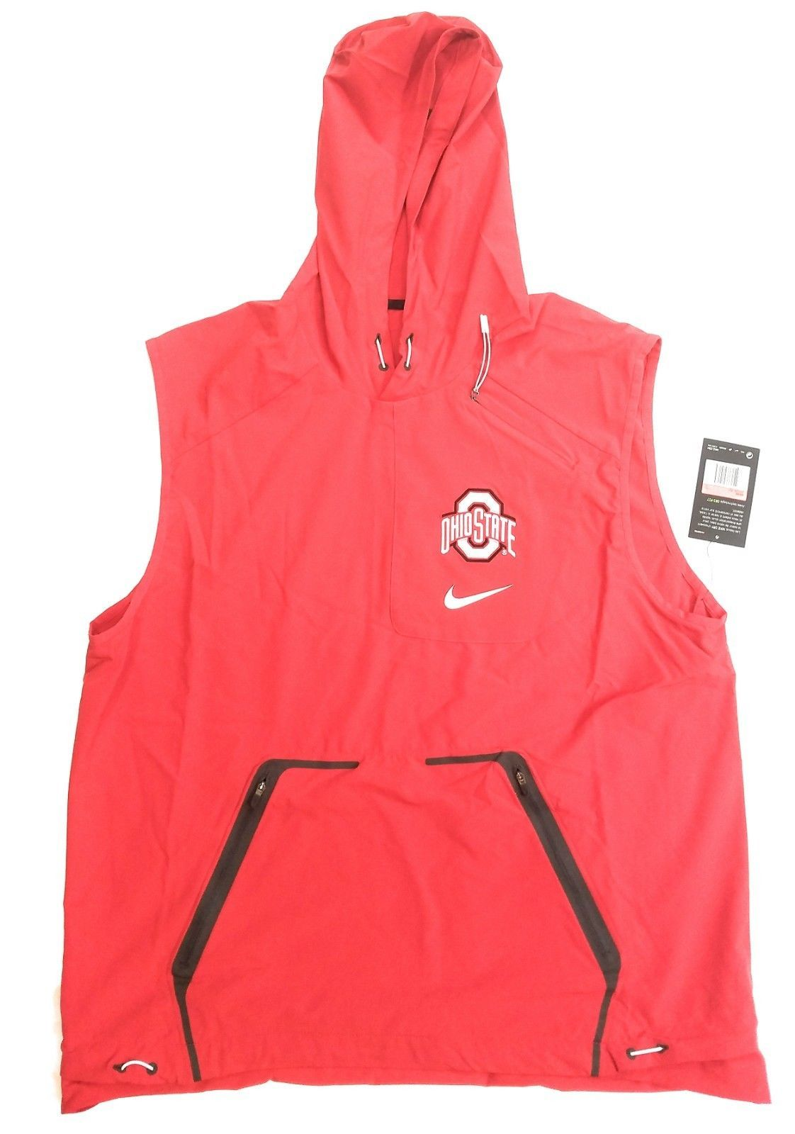 Nike Ohio State Buckeyes Fly Jet Vests Spring Summer Fall Wear