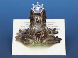 Birthstone Frog Prince Kissing December Zircon Miniatures by Hagen-Renaker image 4