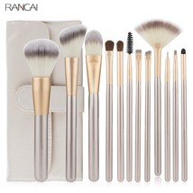 Rancai® 12pcs/Lot Makeup Brushes Set Foundation Powder Blush Eyeshadow - €16,37 EUR