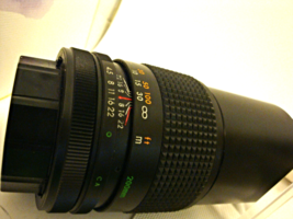 3 Camera Lents: TOU/FIVE Star MC 1=4.5. f=200 plus a Hoya 52mm+ Vivitar Tele Con - $29.99