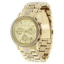 Michael Kors MK5109 Gold Tone Stainless Steel Bracelet Ladies Watch - $324.76