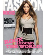 Fashion Rocks- Supplement To Teen Vogue 2007 Jennifer Lopez Magazine - $2.50