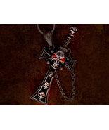 Metaphysical secret society skull and cross bon... - $0.00