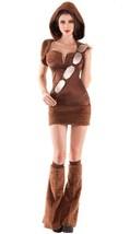 FURRY SPACE COMPANION Dress w/ LegwarmersCostume Star Wars Cosplay Chewb... - $80.74