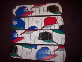 CUSTOM BASEBALL CAPS SPORTS TEAMS HATS CEILING FAN - $99.99