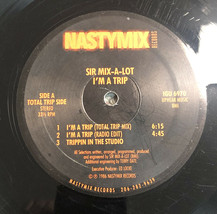 Vintage Vinyl Record LP SIR-Mix-A-Lot I'M A TRIP NASTYMIX No Jacket G - £11.74 GBP