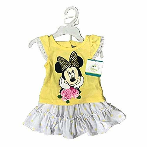 Primary image for Disney Minnie Mouse Baby Girl 2 Pieces Set (12-24 Months) | Newborn Clothes for