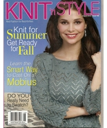 KNIT N STYLE  AUGUST 20123 - $3.99