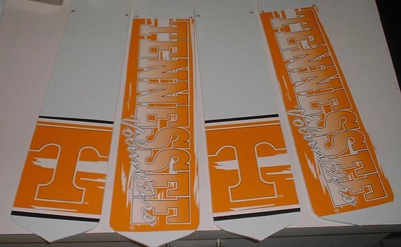 Primary image for CUSTOM TENNESSEE VOLUNTEERS VOLS CEILING FAN