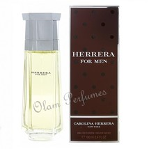 Herrera For Men Edt Spray 3.4oz 100ml by Carolina Herrera * New in Box S... - $52.91
