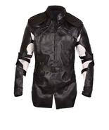 Avenegrs endgame hawkeye black leather costume jacket 0 thumbtall