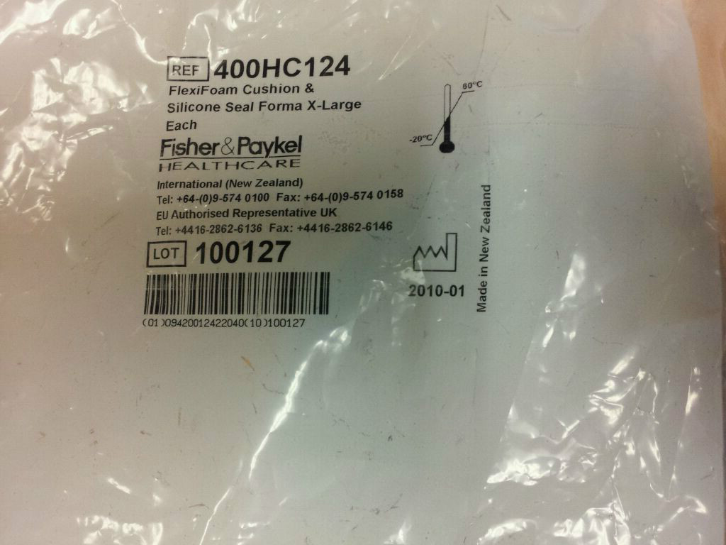 Medium - Fisher Paykel Forma Full Face Mask *Replacement Cushion & Seal*