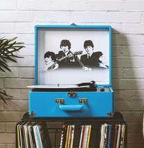 New Crosley Bluetooth Turntable Holiday  1964 BEATLES Anthology Record Player - $169.99