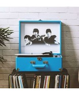 New Crosley Bluetooth Turntable Holiday  1964 BEATLES Anthology Record P... - $169.99