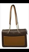 DKNY Bryant Signature Logo Top Zip Tote Handbag Brown $248 NEW - $208.00