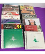 Huge Lot of 15 Assorted Christmas Music CDs Various Country Pop Traditio... - $27.87