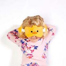 Resteazzz Plush Cutiemals Duck Round Travel Pillow & Eye Mask - $20.33