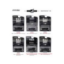Black Bandit Series 15, 6pc set 1/64 Diecast Model Cars by Greenlight 27860 - $49.05