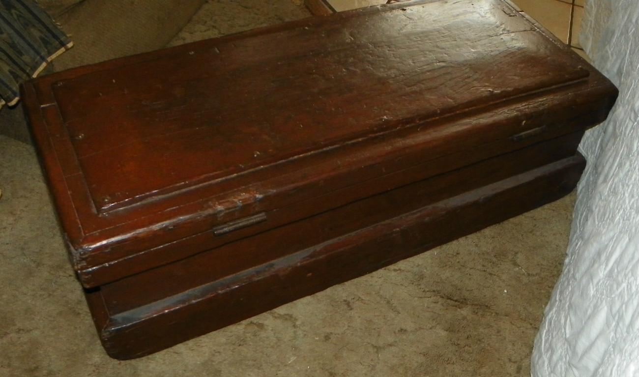 Antique Pine Tool Box   (JLC-HD39)