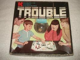 VINTAGE 1965 TROUBLE POP-O-MATIC GAME KOHNER - $22.49