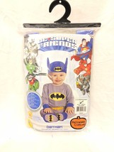 DC Super Friends Batman Baby Infant Boys Halloween Costume (Size 6-12 mo... - $201,94 MXN