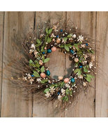 Country Easter Floral Decor Collection Wreath Garland Ring Spray  - $26.95+