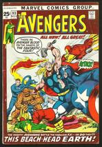 AVENGERS #93 NEAL ADAMS 1971 Dbl-szd Roy Thomas Marvel Comics 1st Series... - $98.01