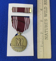 US Army Good Conduct Medal And Bar w/ Burgundy & White Striped Ribbon Lot 2 - $14.84