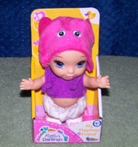 """Little Darlings MY PLAYTIME FRIEND Mini 6"""" Baby Doll New - $8.88"""