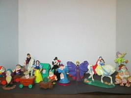 1992 Disney's Snow White McDonald's toys (11 figures - 13 total pieces) - $17.00