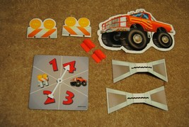 Old 1999 Toy Story 2 Cone Crossing Board Game Parts Spinner and More No. 41947 - $12.00