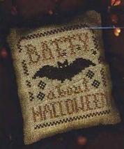A Halloween Year II - Batty About Halloween cross stitch chart Homespun Elegance - $6.30