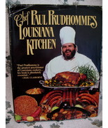 Chef Paul Prudhommes Louisiana Kitchen Cookbook Recipes Vintage Collector  - $14.95