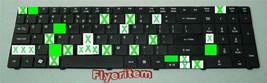 ACER ASPIRE 7745 KEYBOARD'S INDIVIDUAL KEY (one key only) AEZR7R00010 ZR7